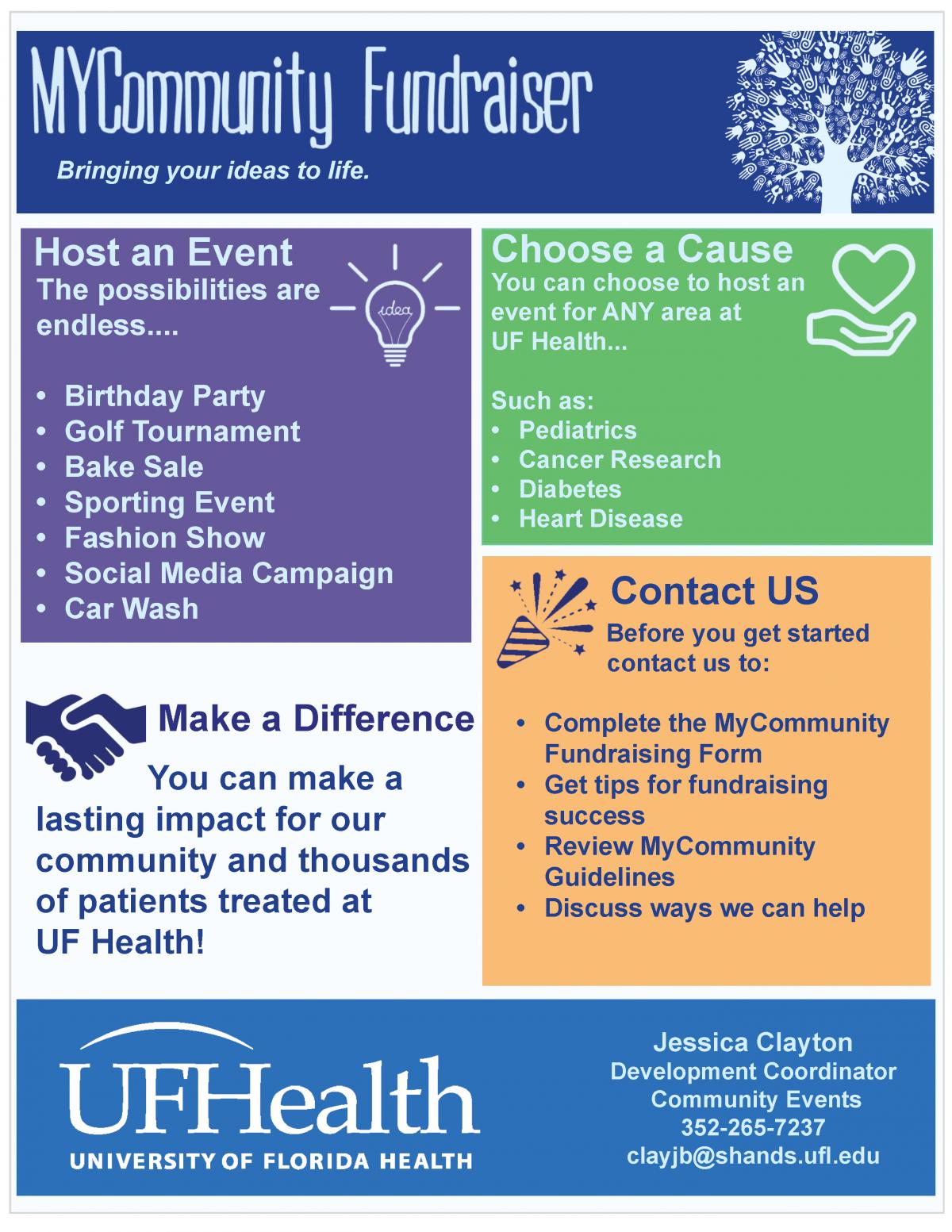 MyCommunity Fundraiser
