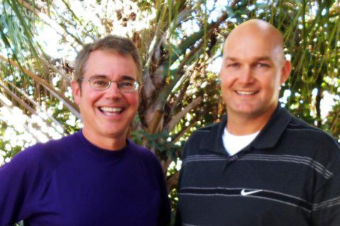 Pete Schwob and Daniel Best