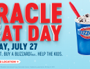 Miracle Treat Day is Thursday, July 27!